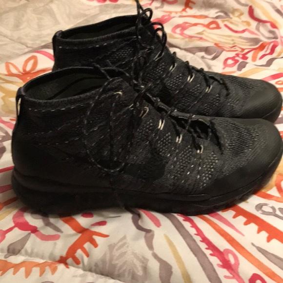 ffb74defb2a Nike flyknit trainer chukka boots